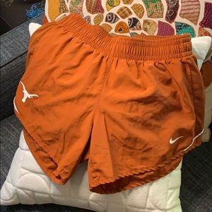 Nike Dry Fit University of Texas Running Shorts